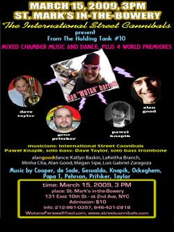 International Street Cannibals - A Classical Musical Ensemble
